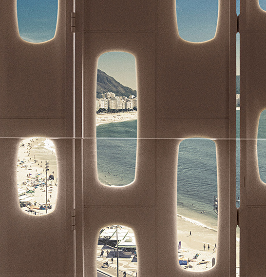 SÓ MESMO O RIO DE JANEIRO para receber uma vista assim